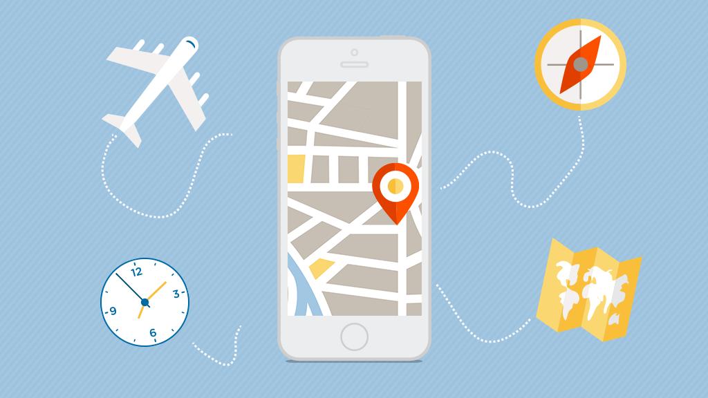 Utilisez des applications de voyage pour vos vacances à l'étranger
